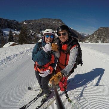 Parapente à Ski proche La Clusaz