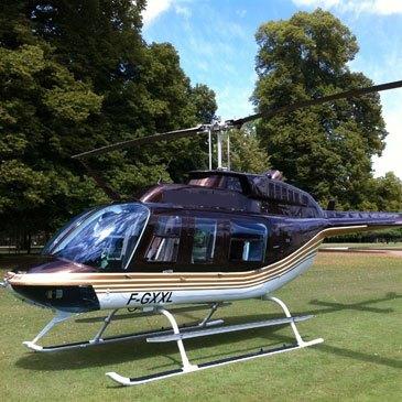 Baptême de l'air hélicoptère, département Indre et loire
