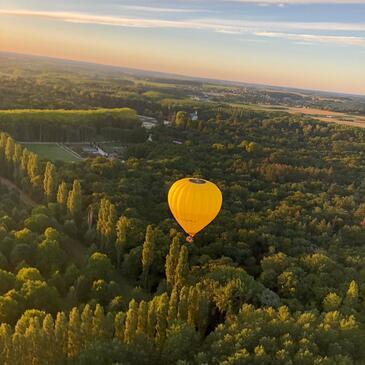 Vol en Montgolfière près du Mans - Vallée du Loir