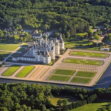 Baptême de l'air en hélicoptère (Château de Chambord)