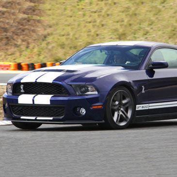 Stage en Mustang Shelby GT - Circuit de Chambley