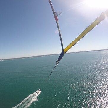 Parachute ascensionnel à La Grande-Motte en région Languedoc-Roussillon