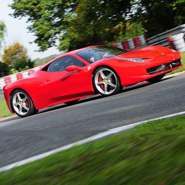 Stage en Ferrari 458 Italia - Circuit de Chambley