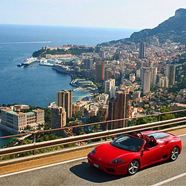 Stage sur Route en Ferrari 430 Spider près de Nice