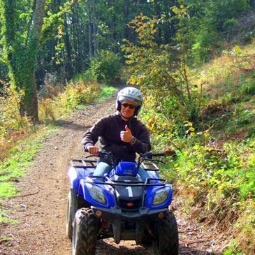 Randonnée en quad à Villefranche-sur-Saône