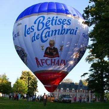 Vol en montgolfière (Le Havre)