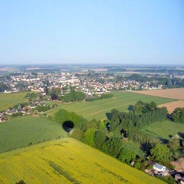 Baptême de l'air montgolfière en région Haute-Normandie