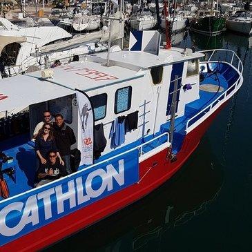 Plongée sous marine proche Saint-Raphaël