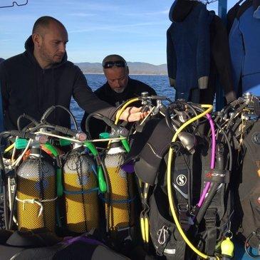 Brevet de Plongée Sous Marine en région Provence-Alpes-Côte d'Azur et Corse