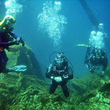 Brevet de Plongée Sous Marine proche Saint-Raphaël