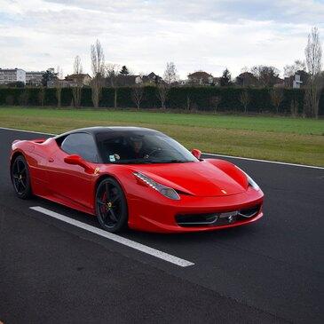 Stage en Ferrari 458 Italia - Circuit de Dijon-Prenois
