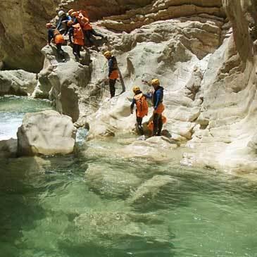 Canyoning en région Midi-Pyrénées