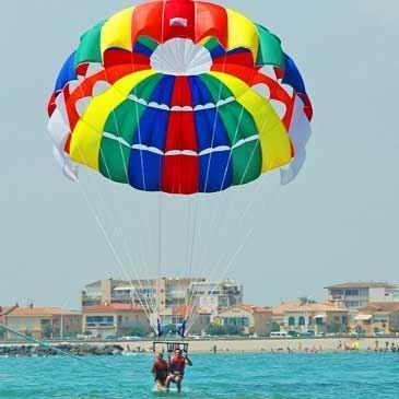 Parachute Ascensionnel à Vendres près de Valras Plage