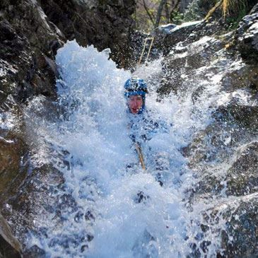 Descente peu sportive du Canyon du Versoud