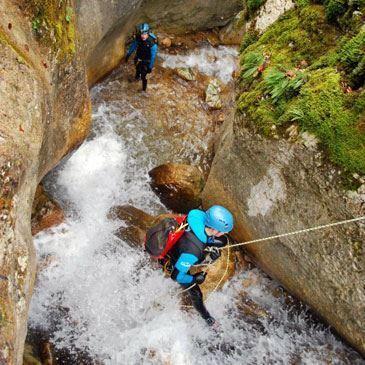 Descente Sportive du Canyon des Ecouges à Grenoble