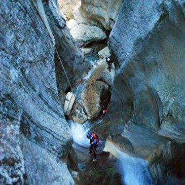 Canyoning en région Rhône-Alpes