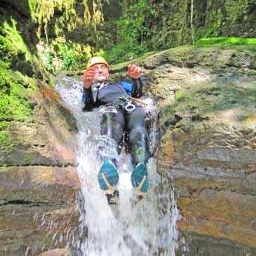 Descente du Canyon de Croiserette à Lons-le-Saunier