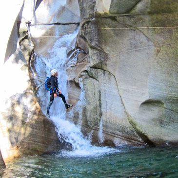 Canyons de Coiserette et Moulin de Vulvoz (descente sportive)