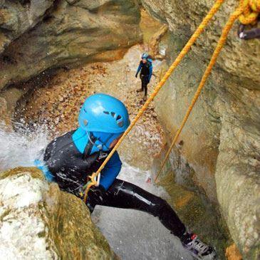 Canyon de Ternèze Boyat (descente sportive)