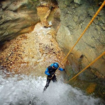 Chambéry, Savoie (73) - Canyoning