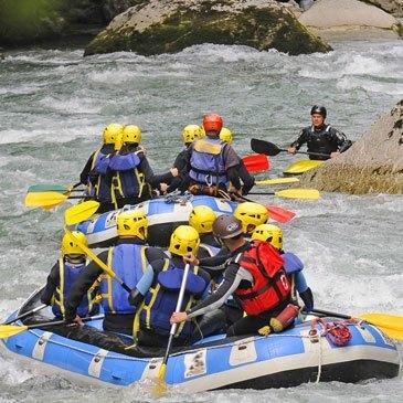 Rafting en région Bourgogne