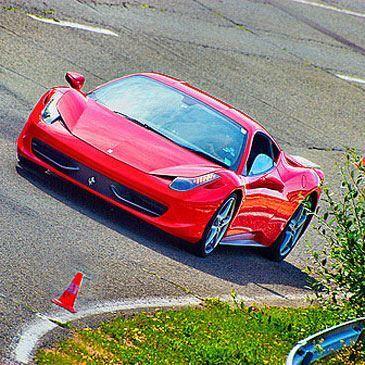 Stage en Ferrari 458 Italia - Circuit de Pont-l'Évêque
