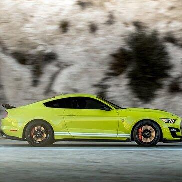 Stage en Mustang Shelby GT500 - Circuit de Pont-l'Évêque
