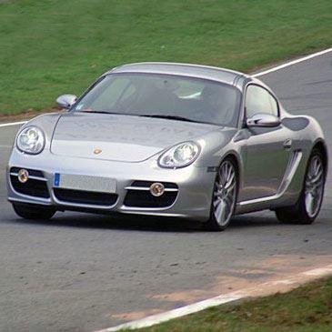 Stage en Porsche Cayman S - Circuit de Pont-l'Évêque