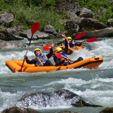 Rafting en région Rhône-Alpes