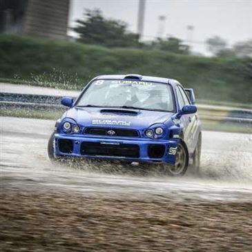 Baptême rallye Subaru Châteaux Lastours