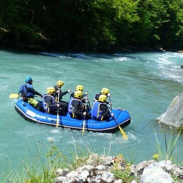 Rafting sur la Dranse à Thonon-les-Bains