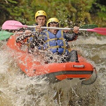 Rafting, département Haute savoie