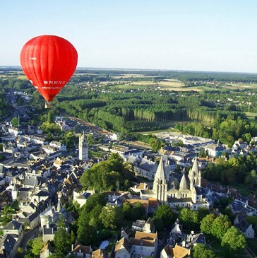 Hôtel Kyriad Saumur - Week end vol montgolfière Saumur