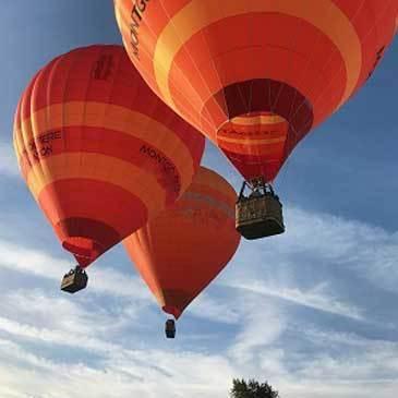 Baptême de l'air montgolfière proche Massignac