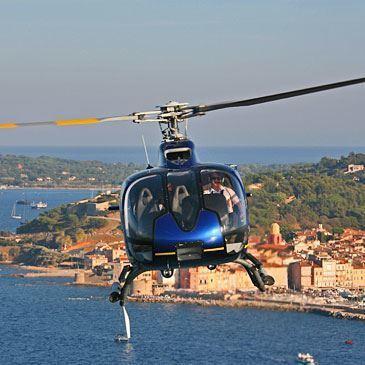 Baptême Privatif en Hélicoptère à Saint-Tropez