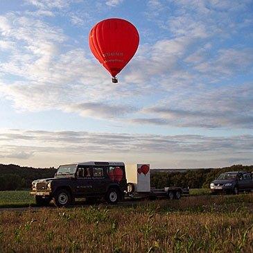 Cheverny, Loir et cher (41) - Baptême de l'air montgolfière