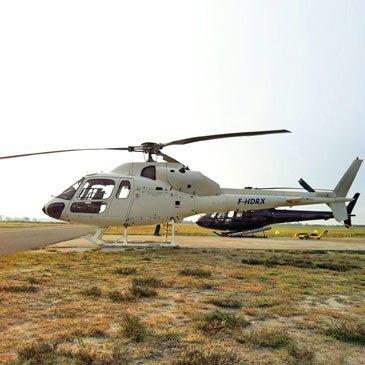 Pilotage Hélicoptère proche Aérodrome de Biscarrosse-Parentis