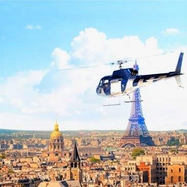 Baptême en hélicoptère - Survol de Paris