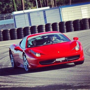 Stage en Ferrari 458 Italia - Circuit du Mans