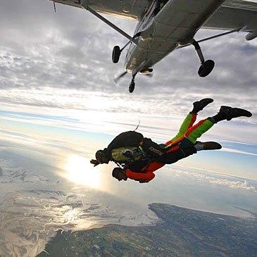 Saut en parachute en région Basse-Normandie