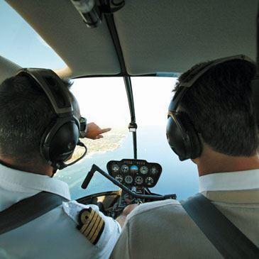 Pilotage d'Hélicoptère près de Saint-Tropez