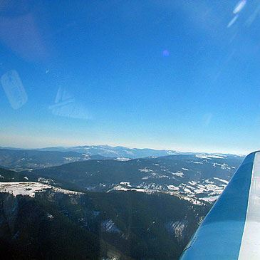 Baptême en Avion à Nancy - Survol des Vosges