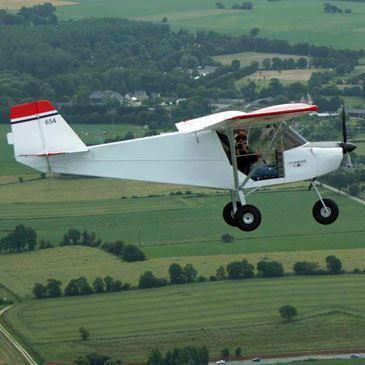 Pilotage d'ULM Multiaxe à Dinard