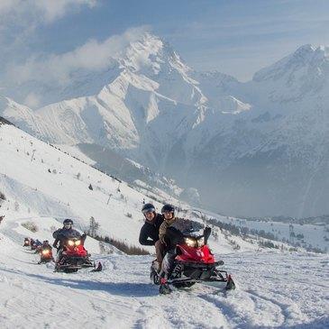 Scooter des neiges, département Isère