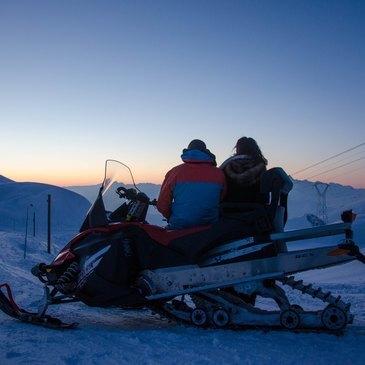 Les Deux Alpes, Isère (38) - Scooter des neiges