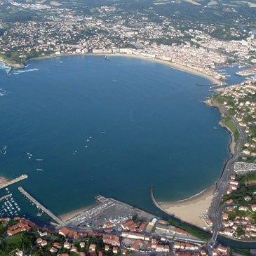 Baptême de l'air paramoteur, département Pyrénées atlantiques