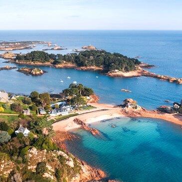 Baptême en Hélicoptère - Île de Bréhat et Côtes-d'Armor