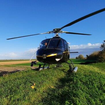 Baptême de l'air hélicoptère en région Bretagne