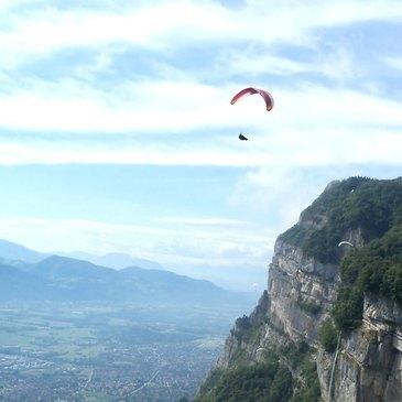 Baptême de l'air en Parapente à Grenoble