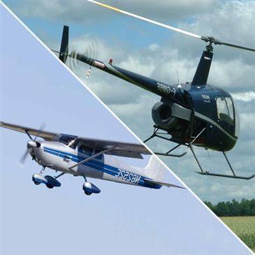 Initiation au Pilotage d'Avion et Hélicoptère à Versailles